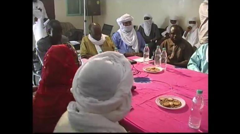 وفد من جهة مراكش أسفي في زيارةعمل لجهة أكاديز بالنيجر