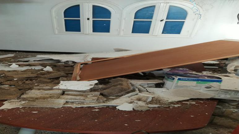 قائد بآسفي ينجو بأعجوبة بعد انهيار سقف مكتبه