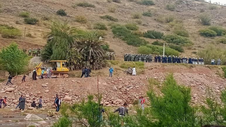 حقوقيون يسجلون تملص السلطة المحلية من مطالب ساكنة ايت زياد المتضررين