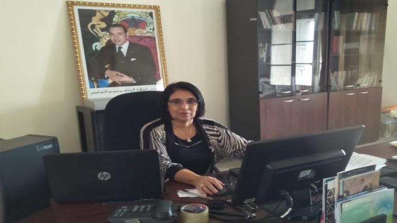 حوار مع ابتسام أوريمش المديرة الإقليمية لوزارة الثقافة بأسف