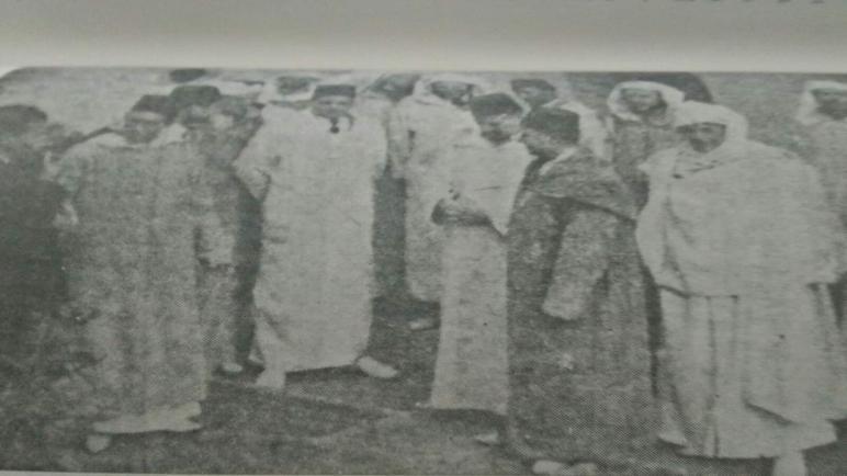 قادة حزب الاستقلال الذين قدموا عريضة الاستقلال ..