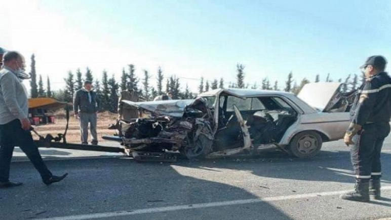 حادث سير مميت نواحي شيشاوة