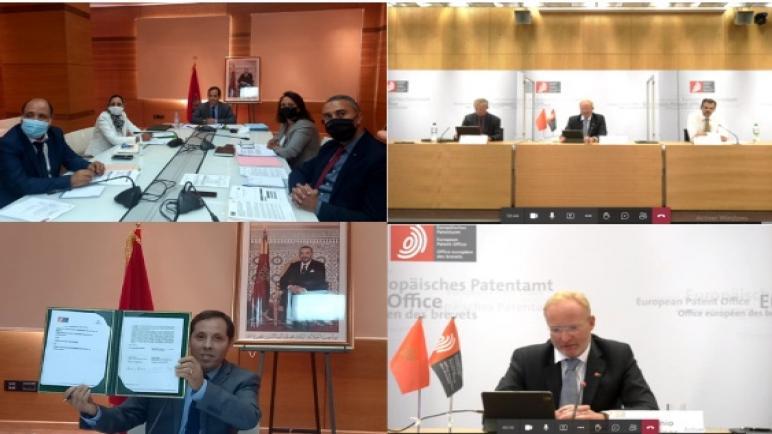 توقيع مذكرة تفاهم بين المكتب المغربي للملكية الصناعية والتجارية و مكتب براءات الاختراع الأوروبي