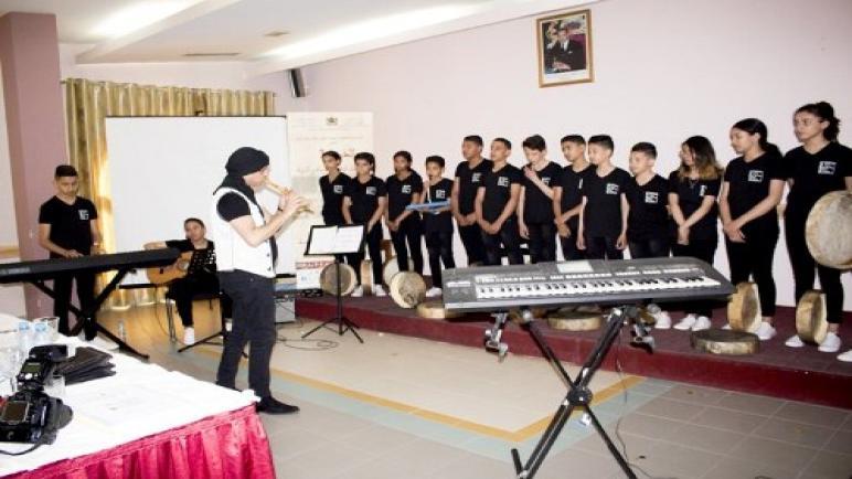 اختتام فعاليات الدورة الأولى للمهرجان الوطني للموسيقى والتربية بمراكش