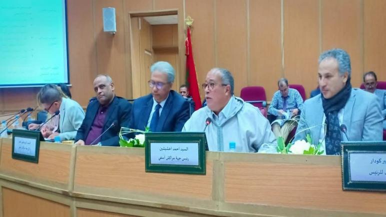 مجلس جهة مراكش آسفي يتفاعل بسرعة مع تطور الحالة الوبائية بمراكش..