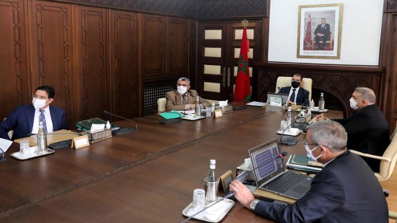 انعقاد اجتماع لمجلس الحكومة يو م الخميس 11 شعبا ن 1442، الموافق لـ 25 مارس 2021