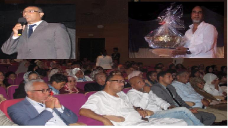 مهرجان لمسات في دورته الثانية يحتفي بالفنان المدير الإقليمي السابق للثقافة بآسفي