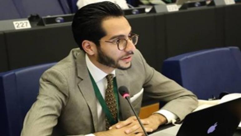 نضال بنعلي نموذج للشاب المغربي الطموح الذي اقتحم الأمم المتحدة …