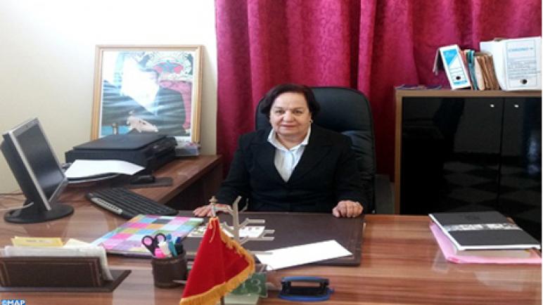 خديجة البواب وجه نسائي بارز في مجال العمل التطوعي والاجتماعي بمدينة آسفي