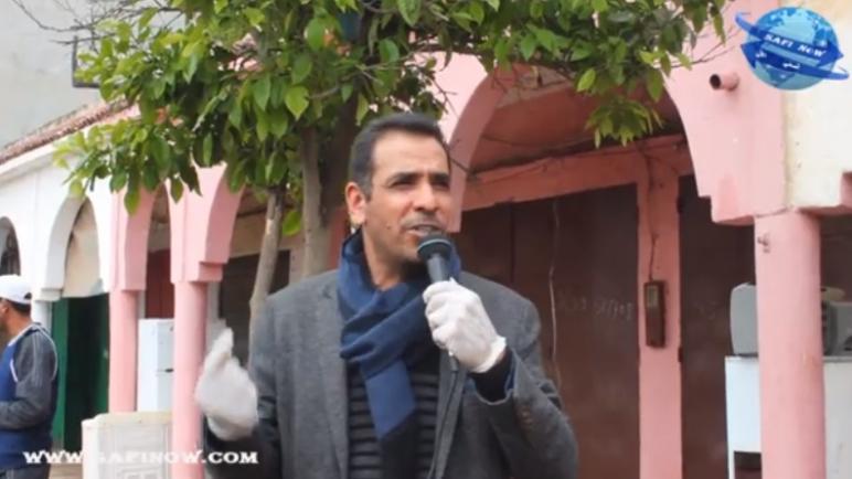 رشيد محيب رئيس جماعة الغياث ينخرط في حملة التوعية للساكنة …