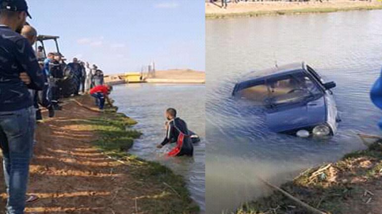 """الزمامرة..العثور على شرطي برتبة """"مقدم"""" جثة هامدة داخل سيارة بقناة الري السفلى"""