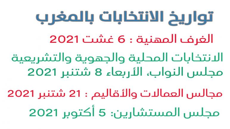 موعد الاستحقاقات الانتخابية القادمة بالمغرب