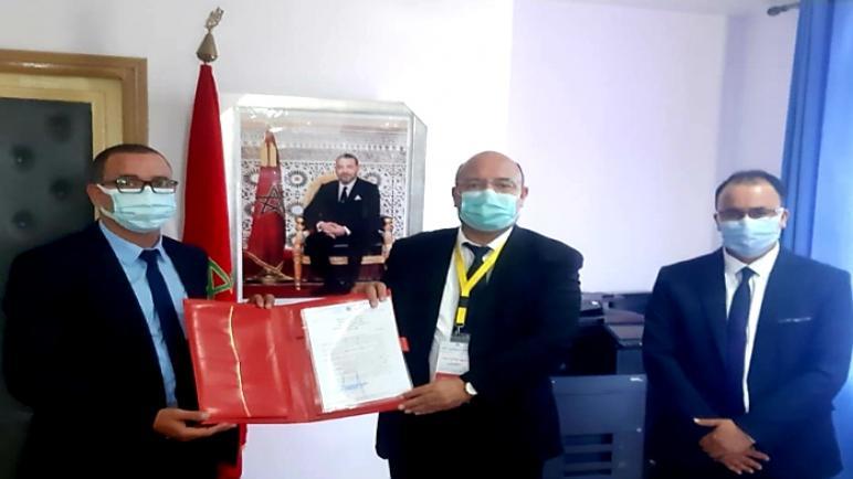 تنصيب السيد موحى أيت ملوك، مديرا إقليميا بالحوز